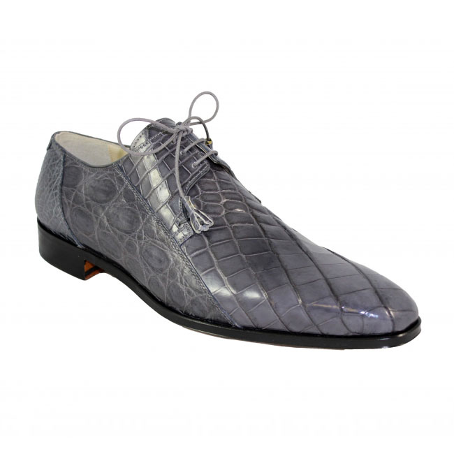 Fennix Italy 3228 Alligator Grey Shoes Image