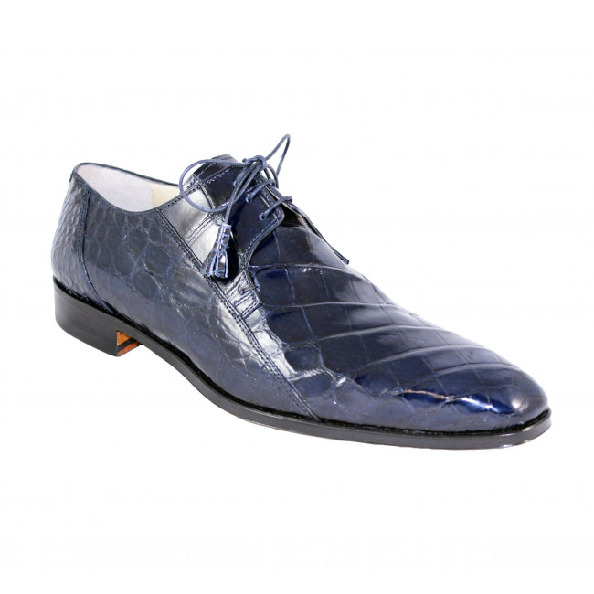 Fennix Italy 3228 Alligator Navy Shoes Image