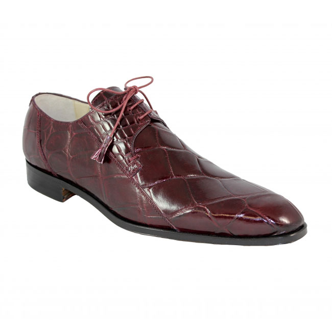 Fennix Italy 3228 Alligator Wine Shoes Image