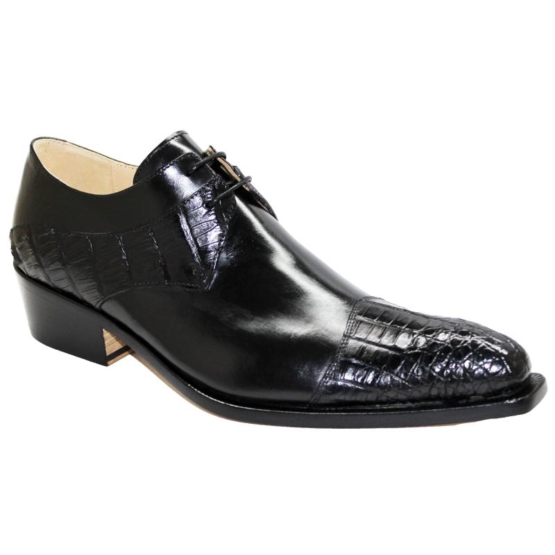 Fennix Max Hornback & Calfskin Shoes Black Image