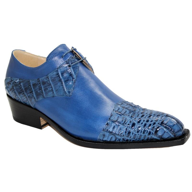 Fennix Max Hornback & Calfskin Shoes Jeans Image