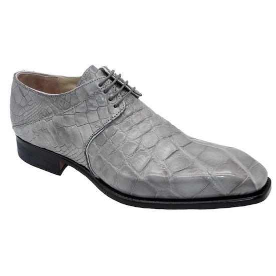 Fennix Oliver Alligator Shoes Gray Image