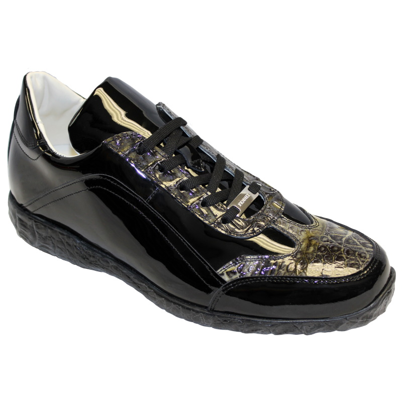 Fennix Zach Hornback & Patent Sneakers Black Image