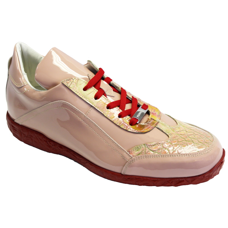 Fennix Zach Hornback & Patent Sneakers Pink Image