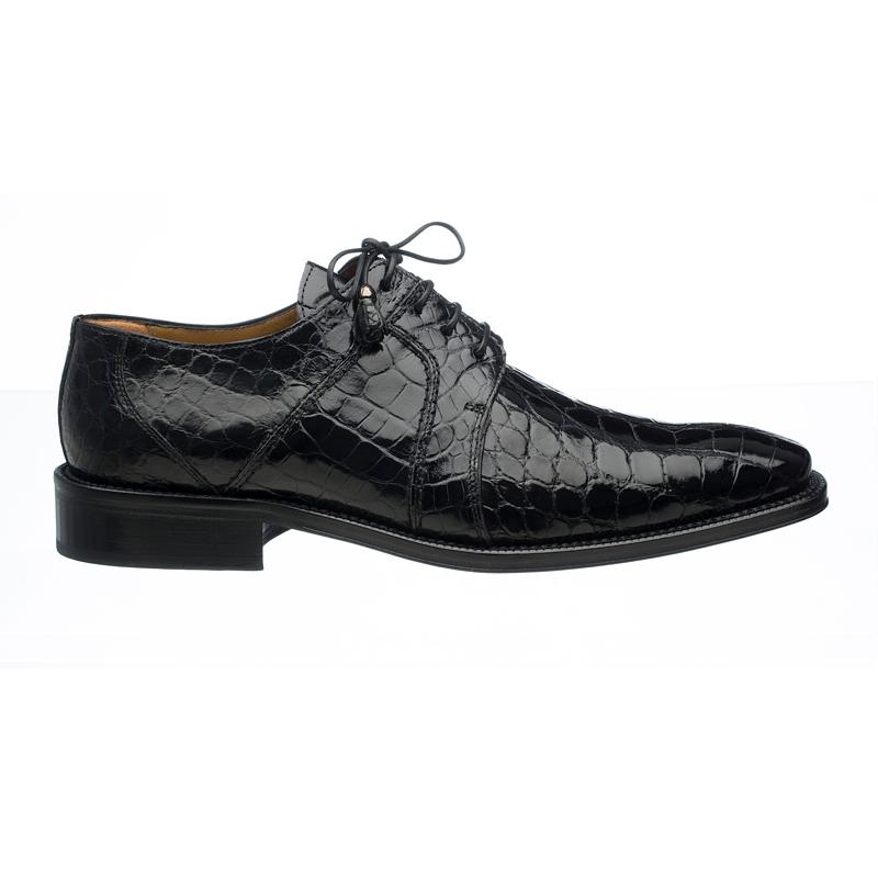 Ferrini 205 / 528 Alligator Derby Shoes Black Image