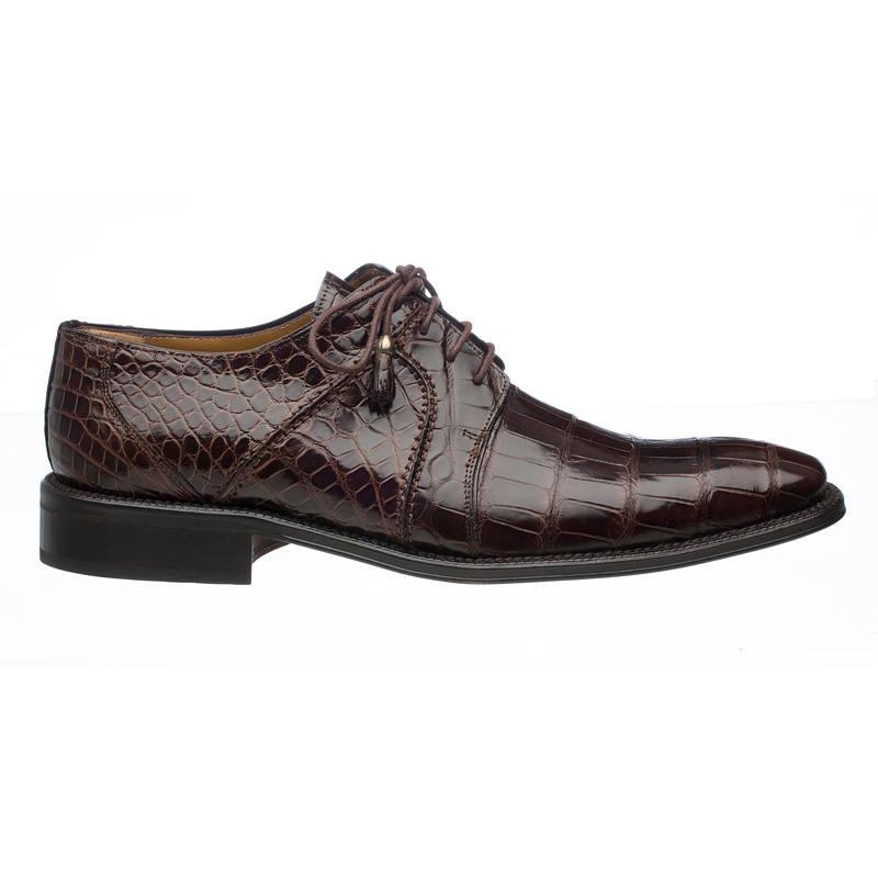 Ferrini 205 / 528 Alligator Derby Shoes Chocolate Image