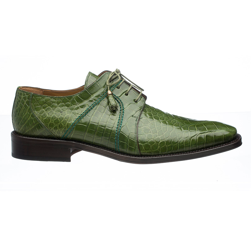 Ferrini 205 / 528 Alligator Derby Shoes Oasis Image