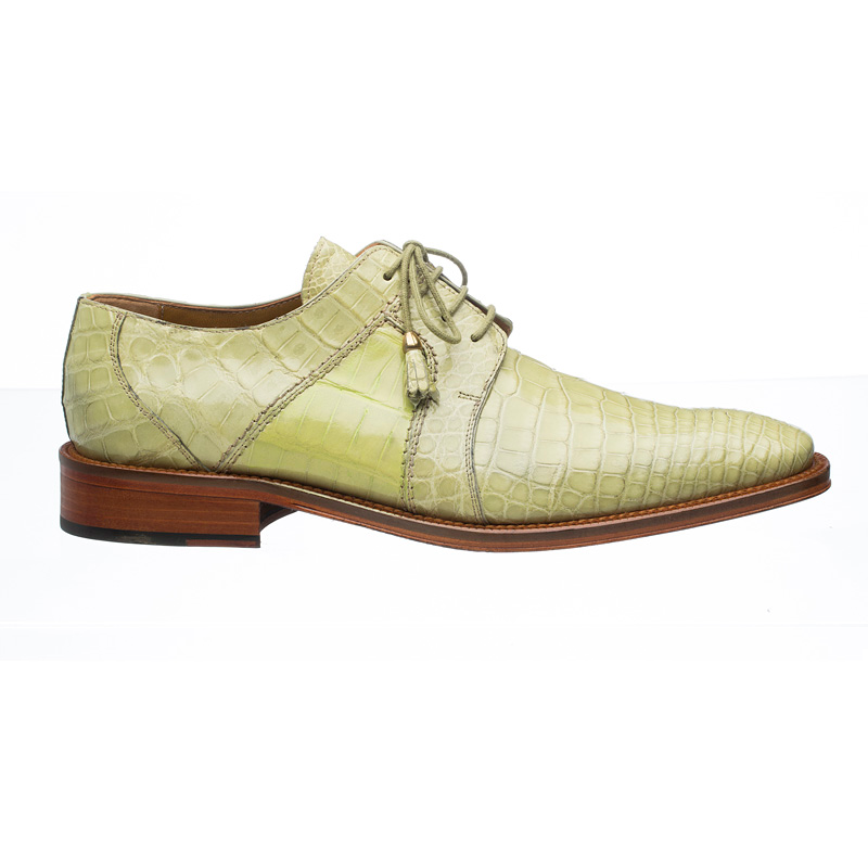 Ferrini 205 / 528 Alligator Derby Shoes Peridot Image