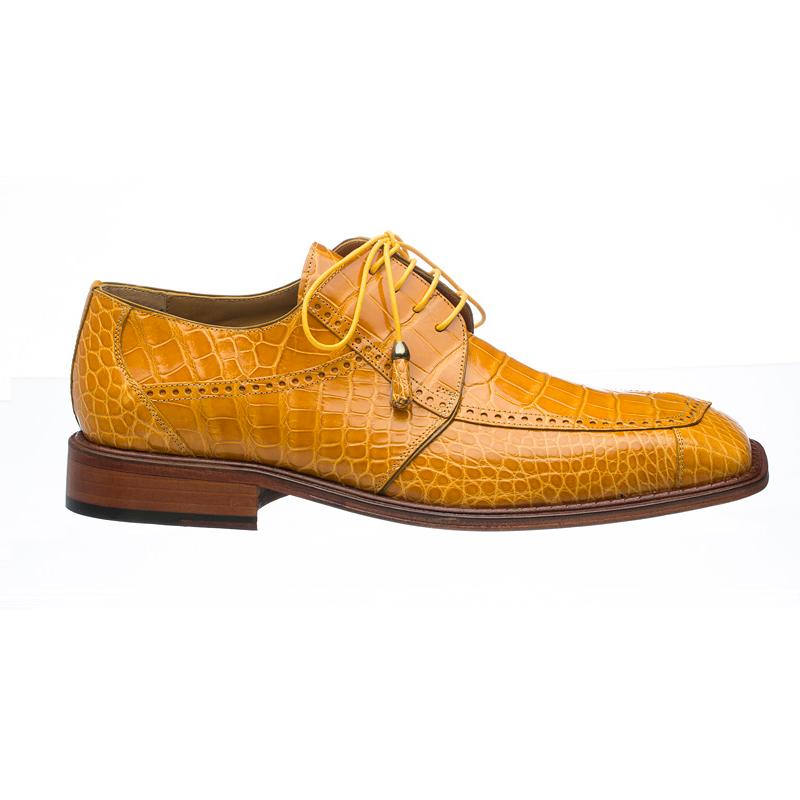 Ferrini 206 / 151 Alligator Square Toe Shoes Tournasol  Image
