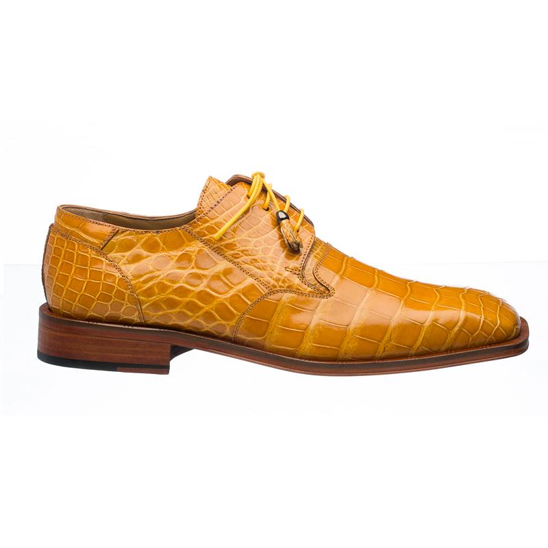 Ferrini 208 Alligator Square Toe Shoes Tournasol Image