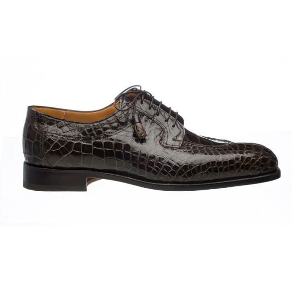 Ferrini 3520 Alligator Split Toe Shoes Olive Image