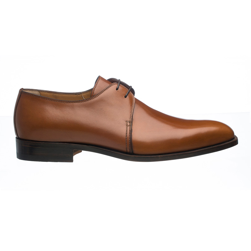 Ferrini 3786 / 160 French Calfskin Plain Toe Derby Shoes Jamaica Image