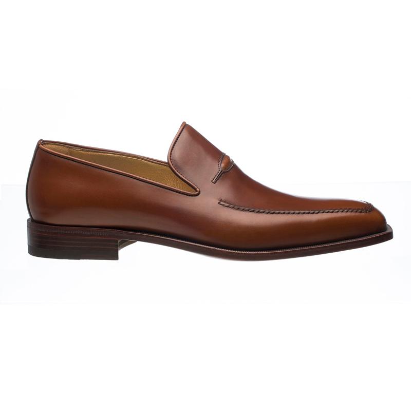 Ferrini 3877 French Calfskin Apron Toe Loafers Jamaica Image