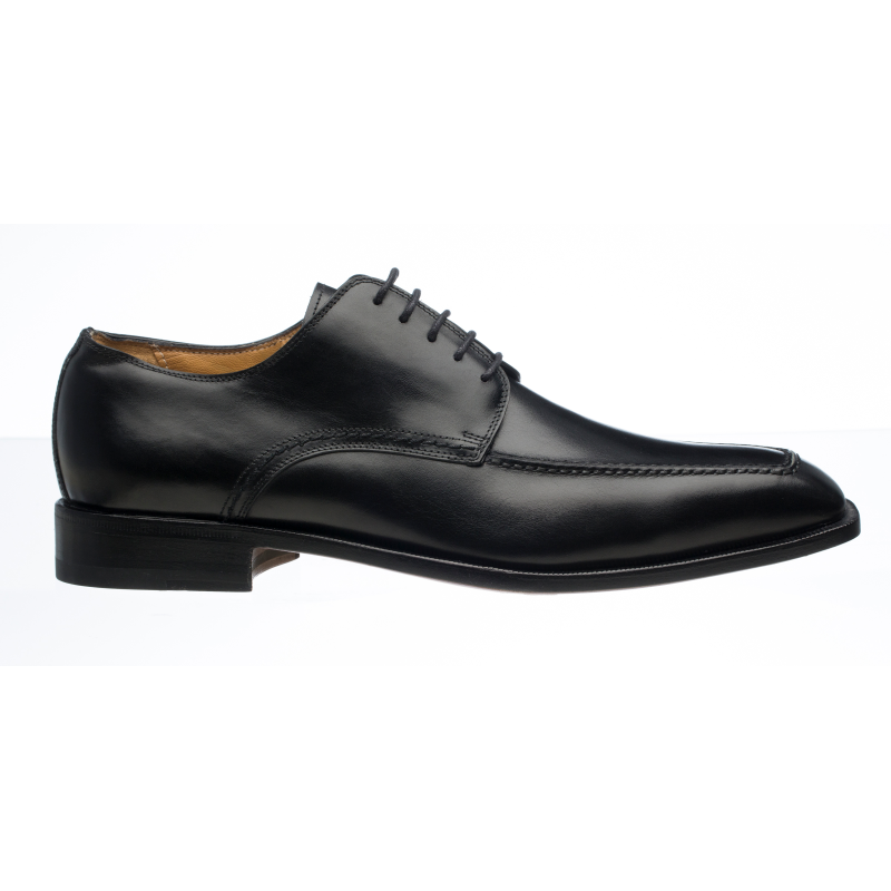 Ferrini 3898 French Calfskin Derby Shoes Black Image