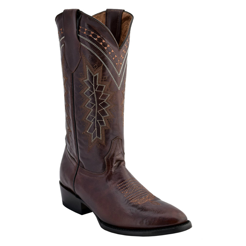 Ferrini Apache 12911-09 Cowhide Boots Chocolate Image