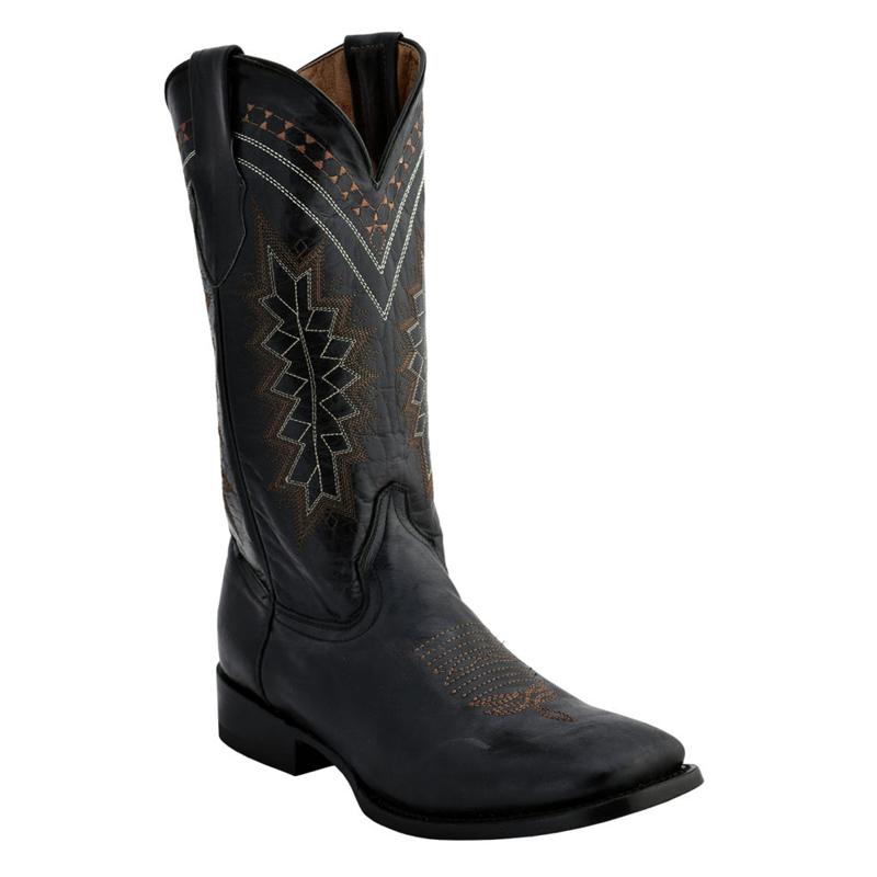 Ferrini Apache 12993-04 Cowhide Boots Black Image