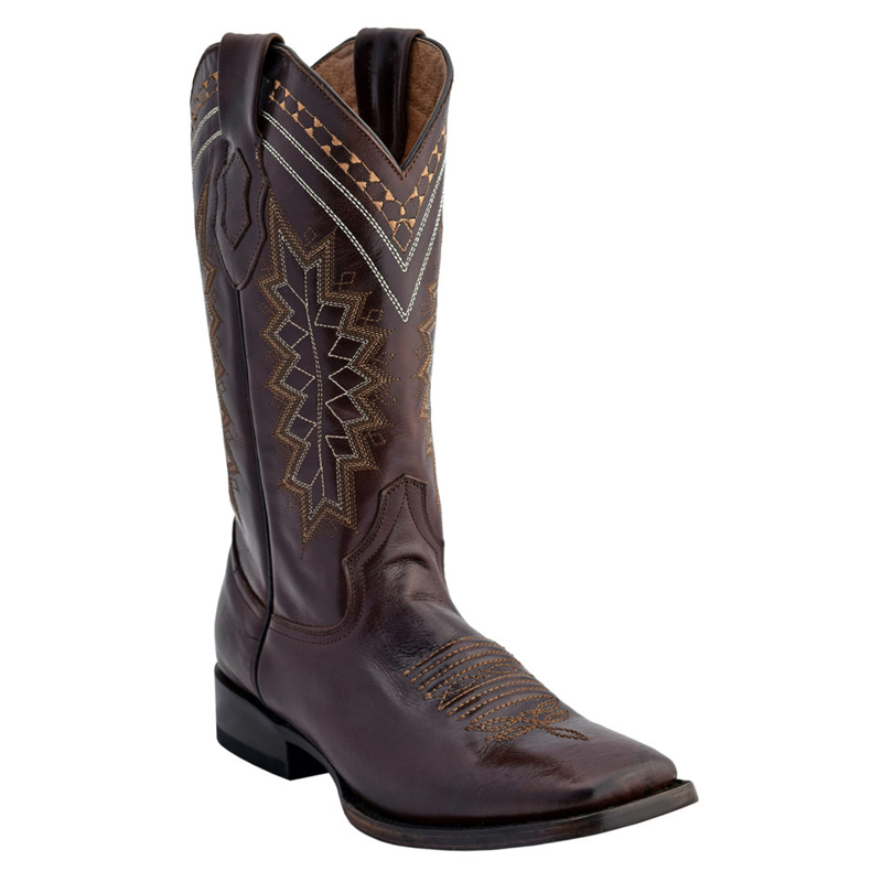 Ferrini Apache 12993-09 Cowhide Boots Chocolate Image