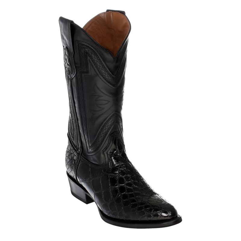 Ferrini Belly Alligator 10711-04 Exotic Boots Black Image