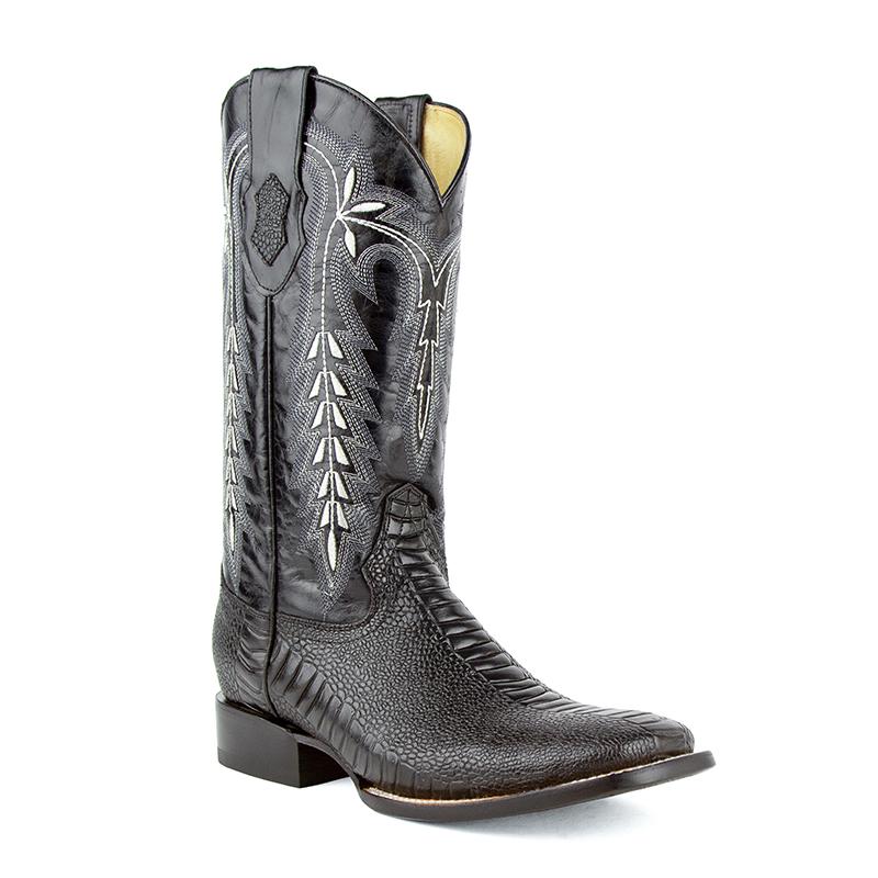 Ferrini Easton 43293-04 Square Toe Boots Black Image