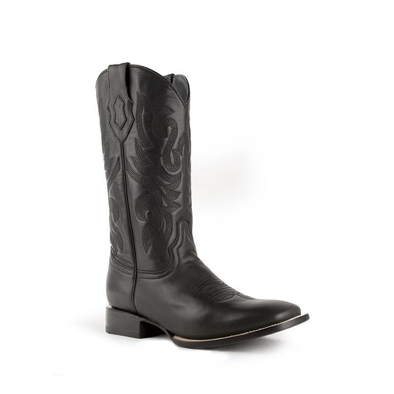 Ferrini Jackson 11093-04 Square Toe Boots Black Image