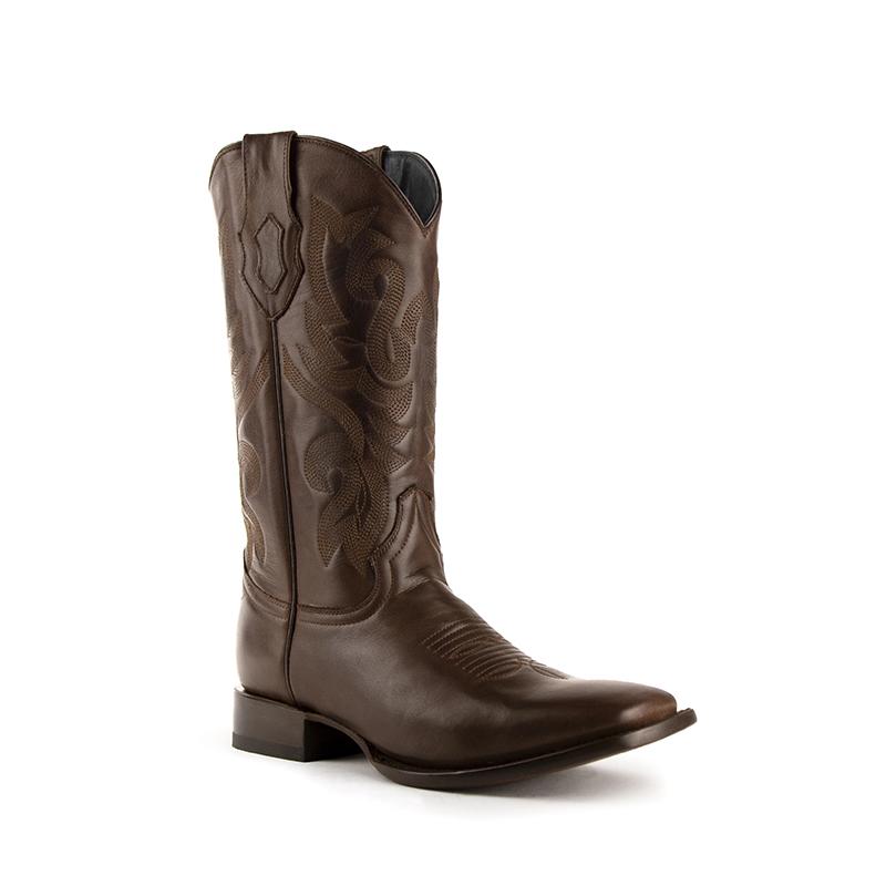 Ferrini Jackson 11093-09 Square Toe Boots Chocolate Image