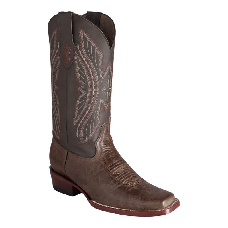 Ferrini Kangaroo 10871-09 Exotic Boots Chocolate Image
