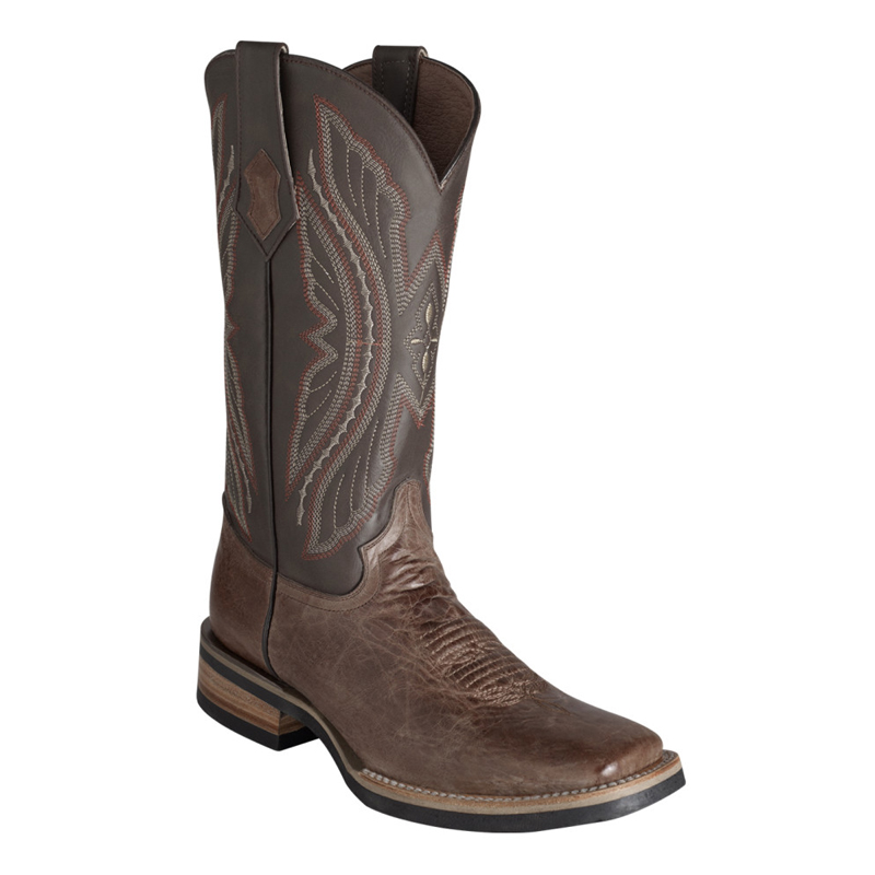 Ferrini Kangaroo 10893-09 Exotic Boots Chocolate Image