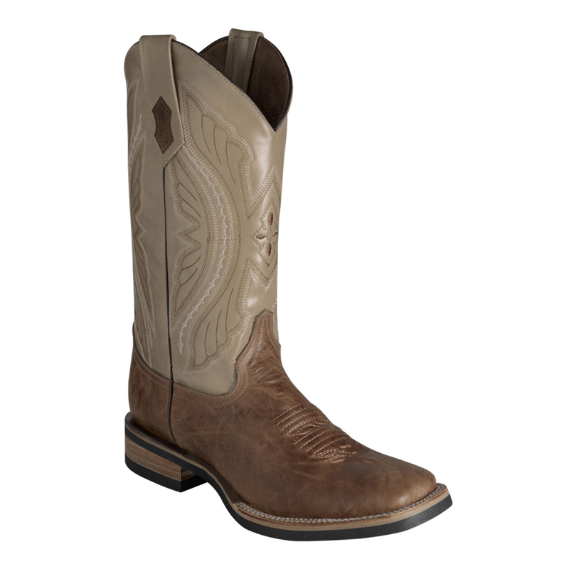 Ferrini Kangaroo 10893-15 Exotic Boots Dark Antique Saddle Image