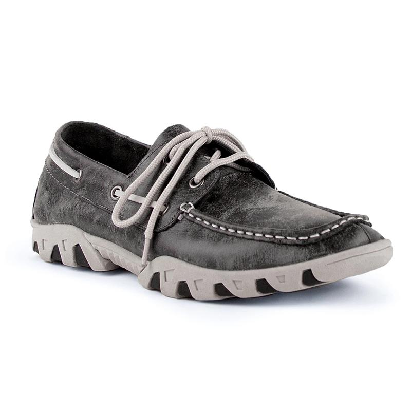Ferrini Loafer 35322-49 Round Toe Shoes Smokey Black Image