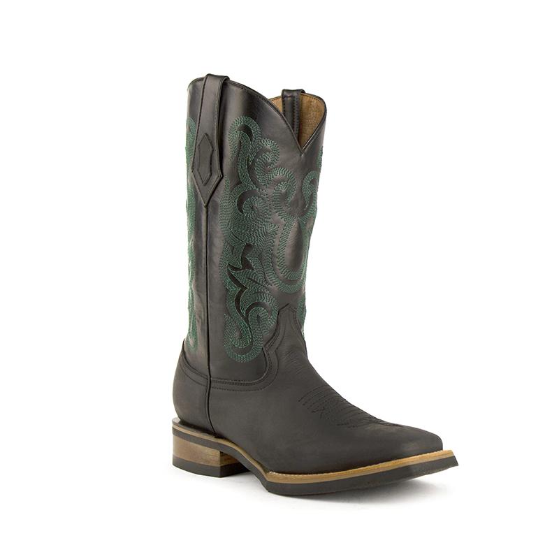 Ferrini Maverick 15093-04 Square Toe Boots Black Image