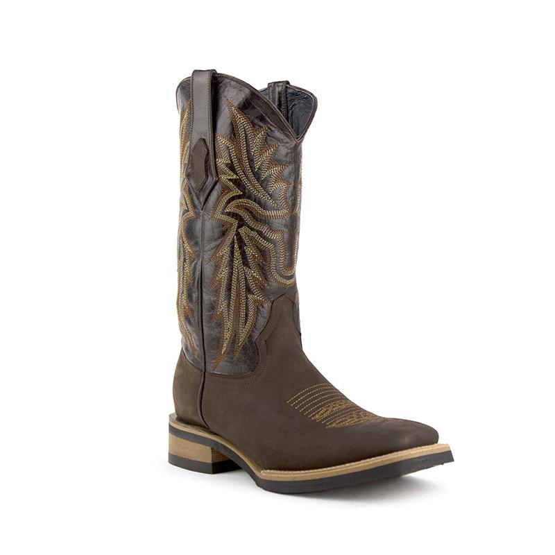 Ferrini Maverick 15093-09 Square Toe Boots Chocolate Image