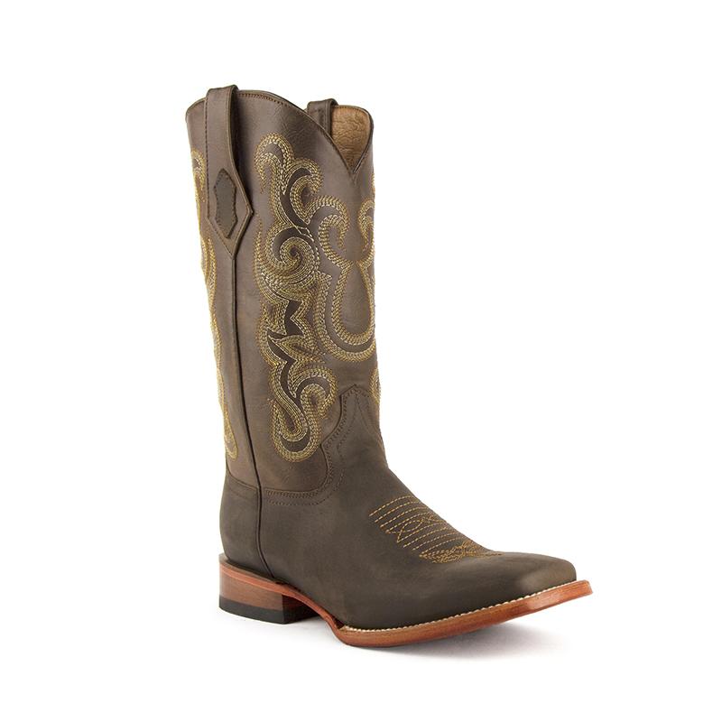 Ferrini Maverick 15193-09 Square Toe Boots Chocolate Image