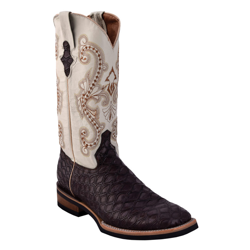 Ferrini Print Anteater 42593-08 Cowhide Boots Chocolate Image