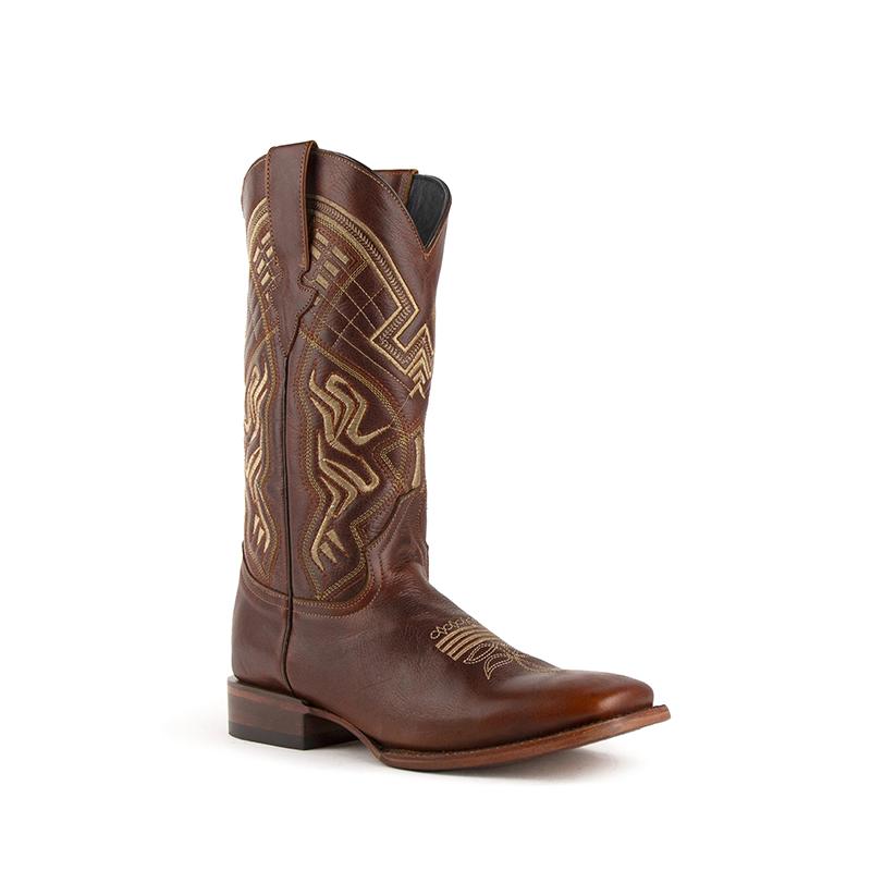 Ferrini Roan 11293-10 Square Toe Boots Brown Image