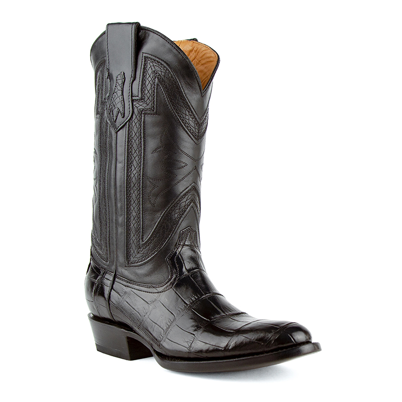Ferrini Stallion 10711-04 Round Toe Boots Black Image