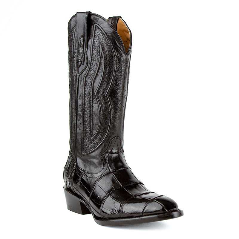 Ferrini Stallion 10711-27 Round Toe Boots Black Image