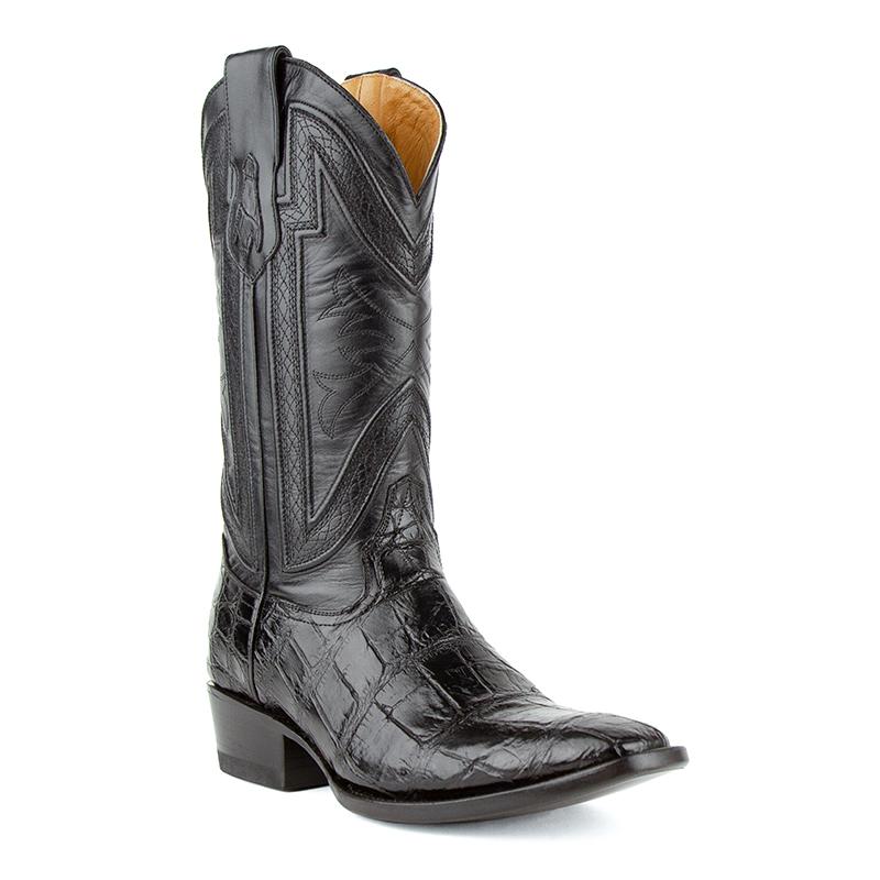 Ferrini Stallion 10741-04 French Toe Boots Black Image