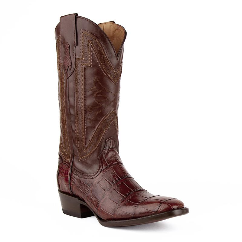 Ferrini Stallion 10741-09 French Toe Boots Chocolate Image