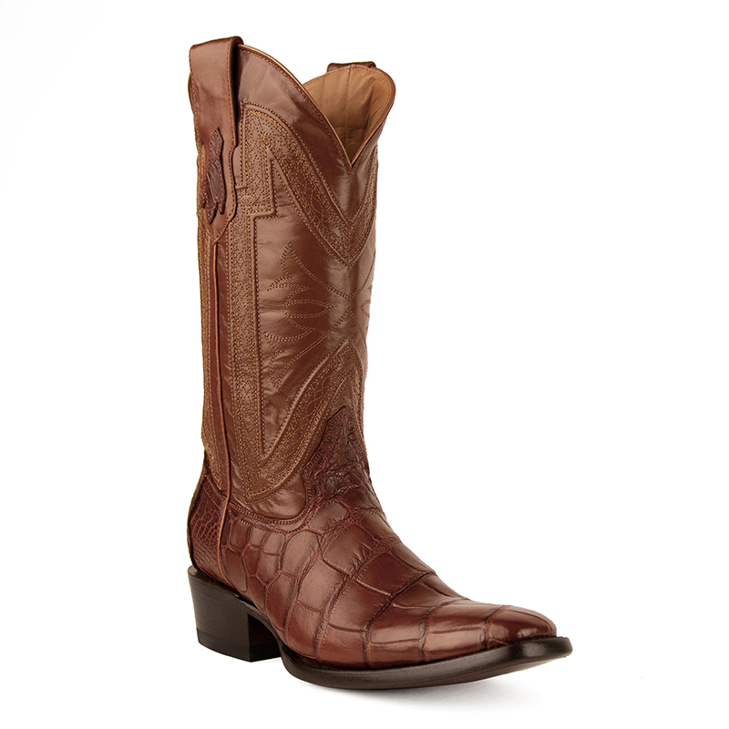 Ferrini Stallion 10741-26 French Toe Boots Cognac Image