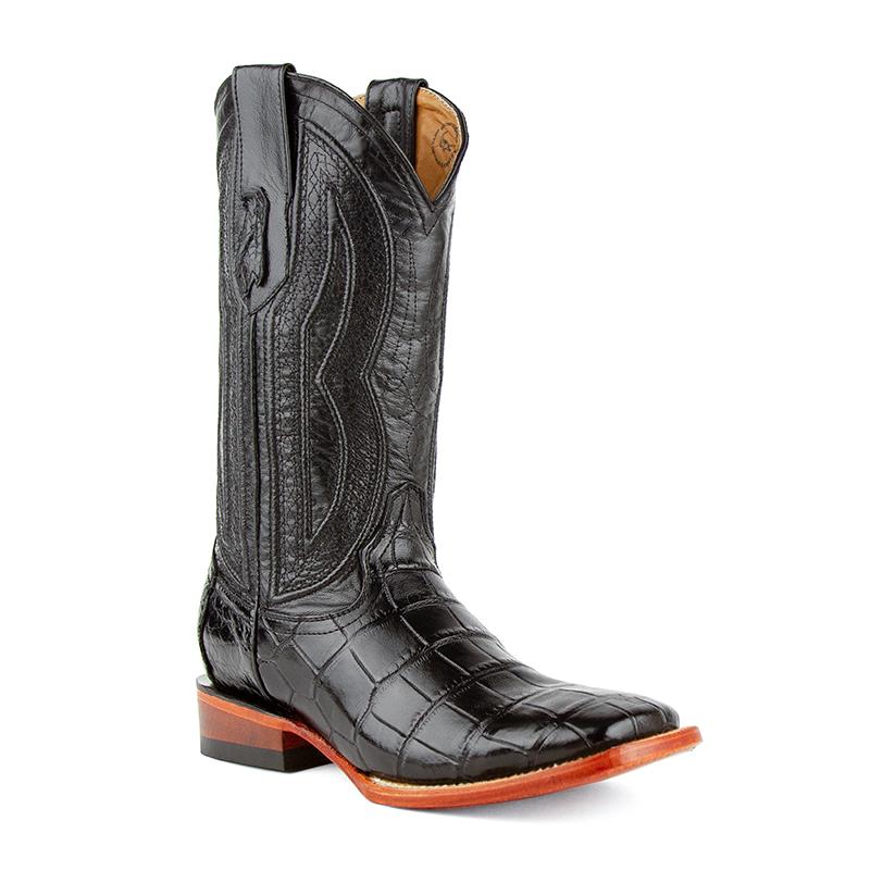 Ferrini Stallion 10793-04 Square Toe Boots Black Image