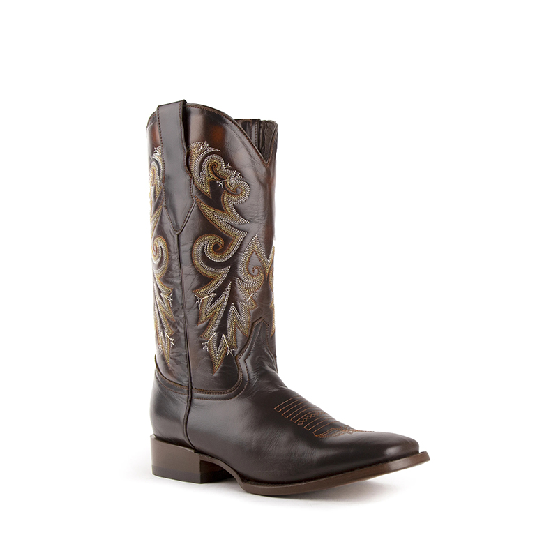 Ferrini Tundra 11293-09 Square Toe Boots Chocolate Image