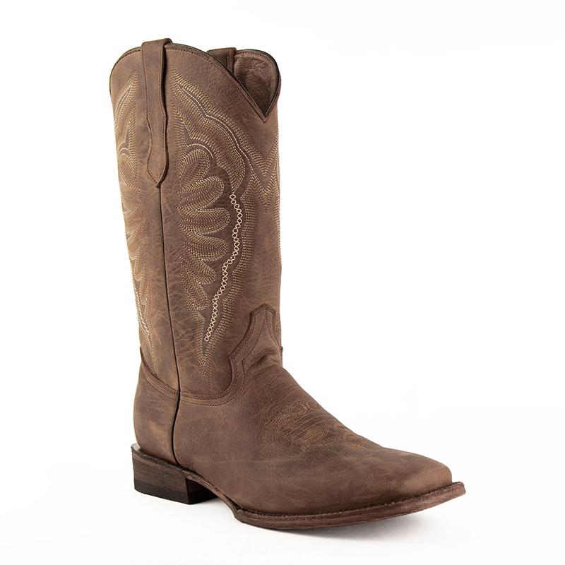 Ferrini Vaquero 11093-10 Square Toe Boots Brown Image