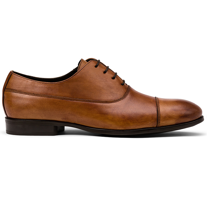 G. Brown Bailey Cap Toe Oxfords Almond Image