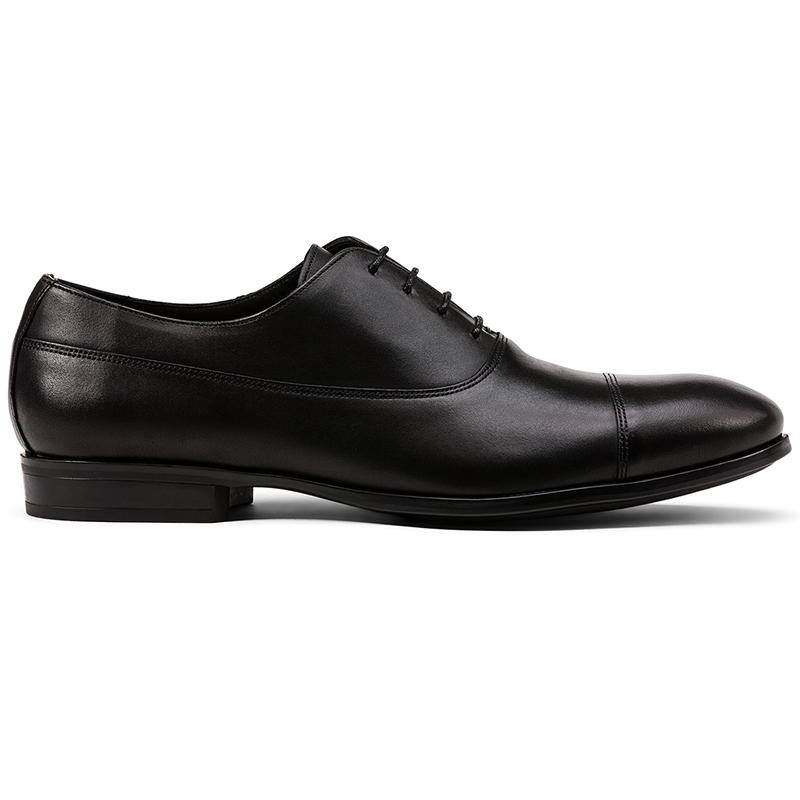 G. Brown Bailey Cap Toe Oxfords Black Image
