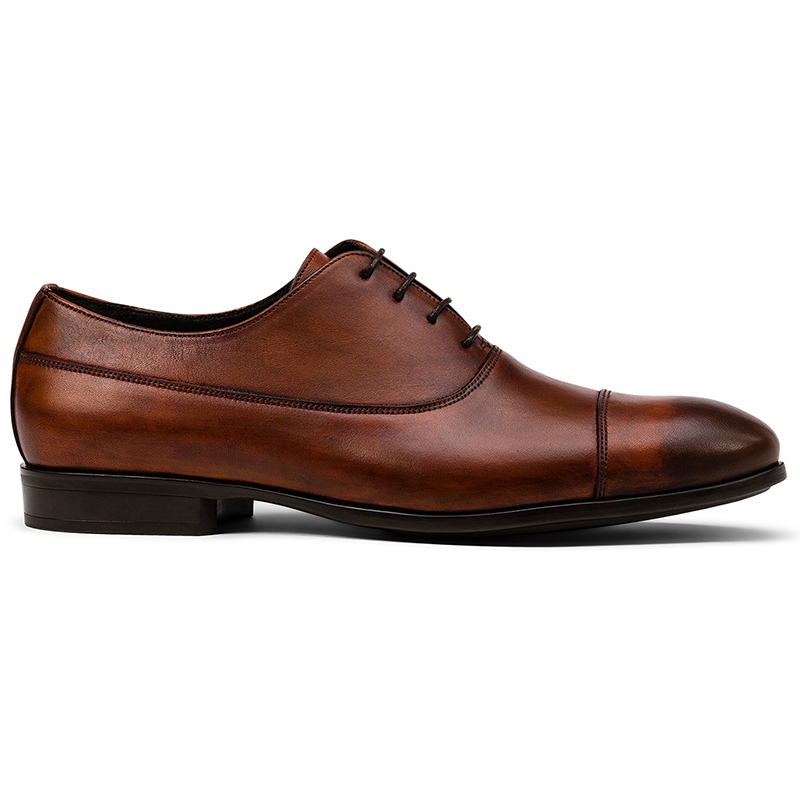 G. Brown Bailey Cap Toe Oxfords Brown Image