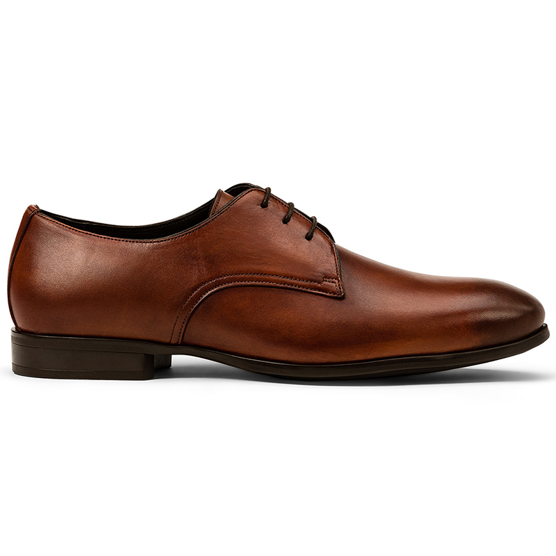 G. Brown Conway Plain Toe Blucher Tan Image