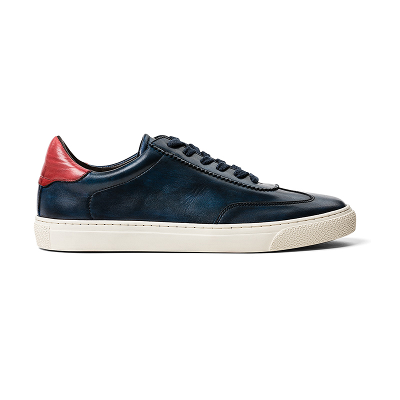 G. Brown Flight Sneaker Navy Image