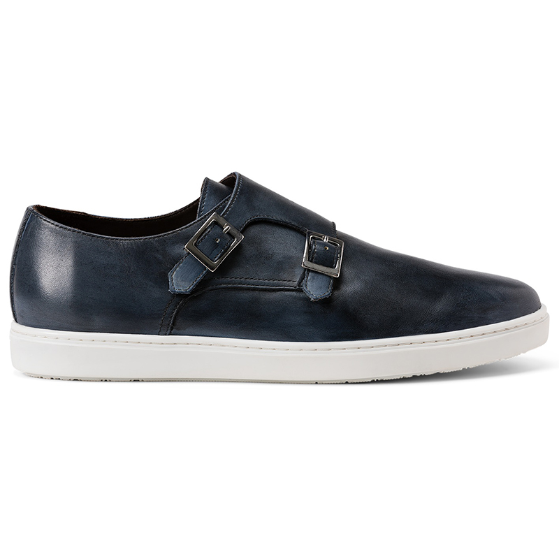 G. Brown Jaxon Double Monk Strap Sneaker Black Image