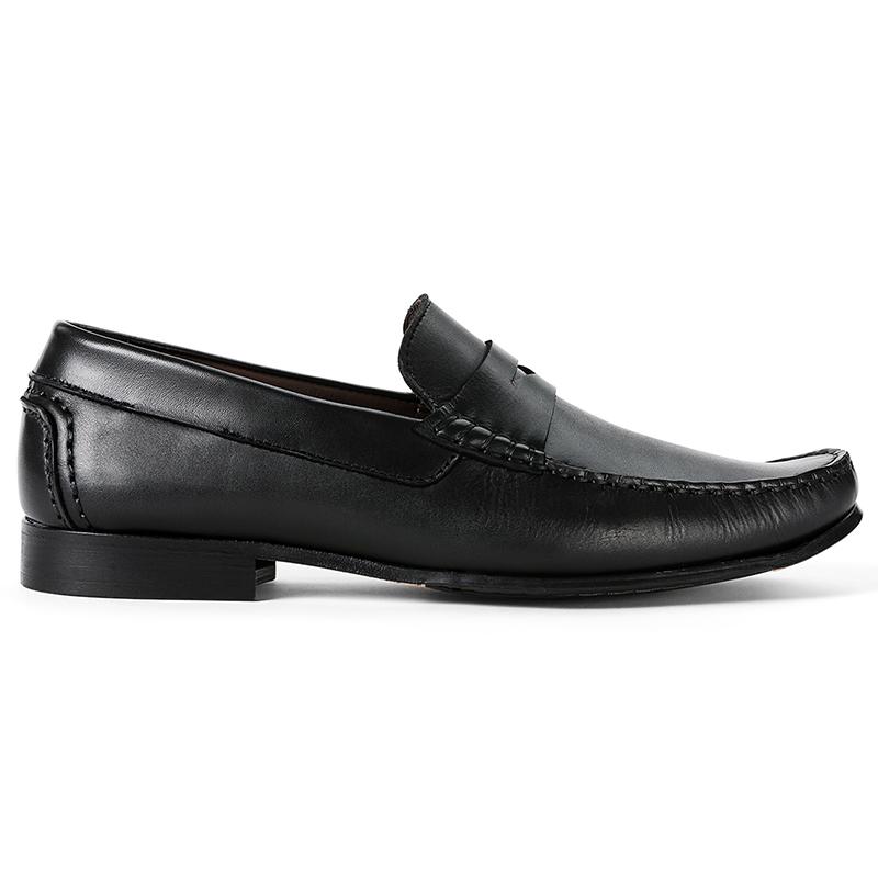 G. Brown Malibu Strap Loafers Black Image