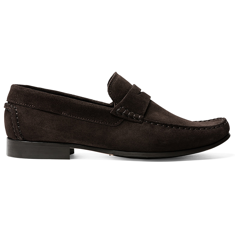 G. Brown Malibu Suede Strap Loafers Brown Image
